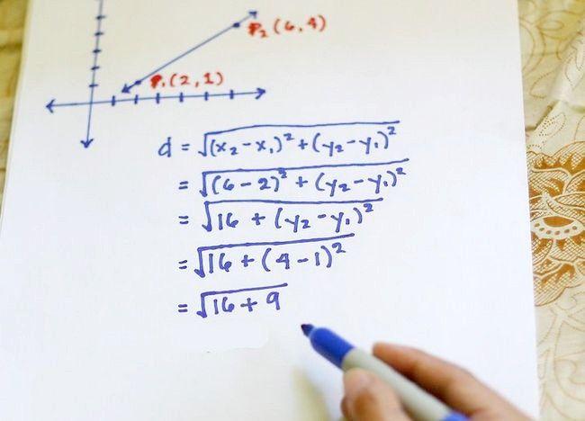 Imaginea intitulată Utilizați formula distanței pentru a găsi lungimea unei linii Pasul 6
