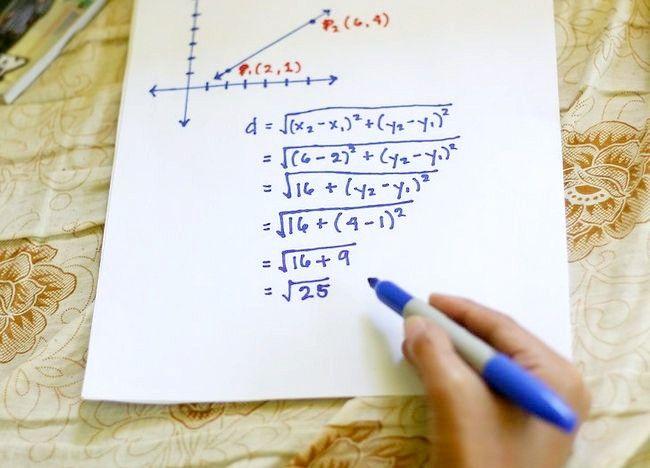 Imaginea intitulată Utilizați formula distanței pentru a găsi lungimea unei linii Pasul 7