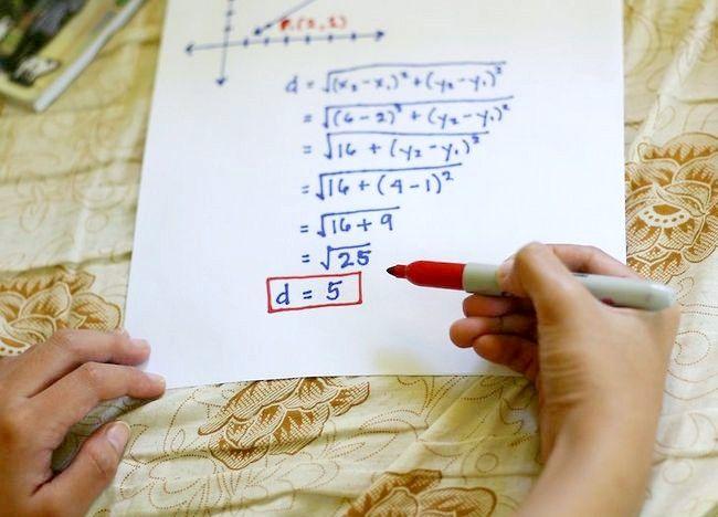 Imaginea intitulată Utilizați formula distanței pentru a găsi lungimea unei linii Pasul 9