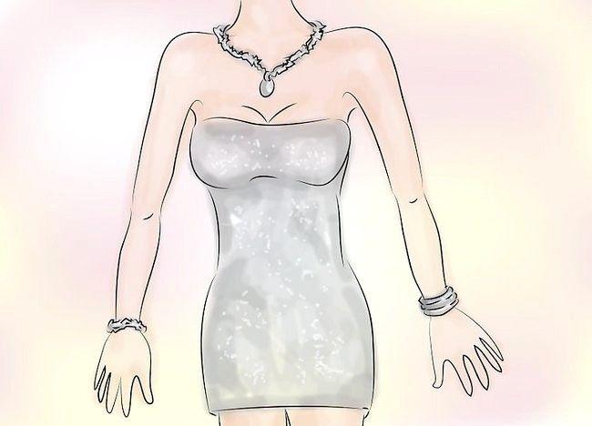 Cum sa poarte accesorii cu o rochie de argint