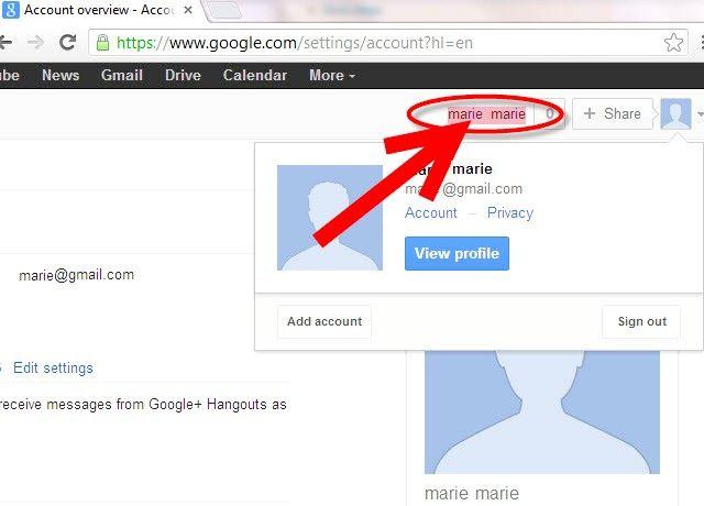 Imaginea intitulată Utilizați Conectarea Google multiple în Pasul 2