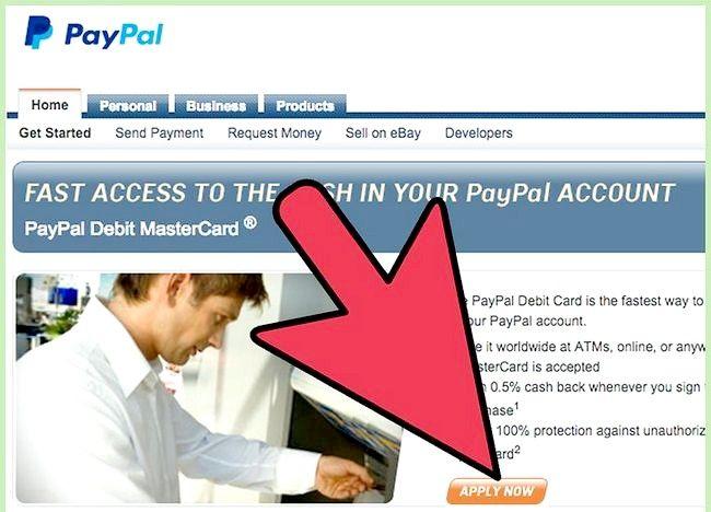 Cum să utilizați cardul de debit Paypal