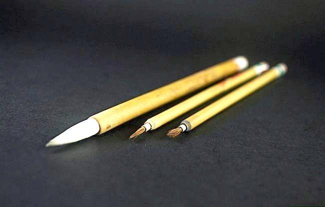 Cum se utilizează o pensulă chineză