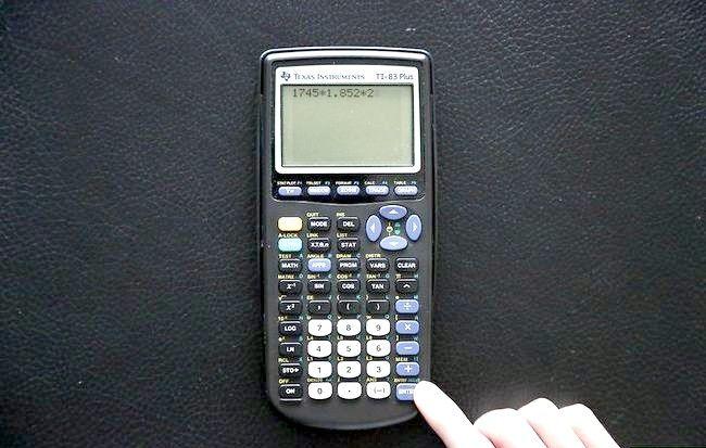 Cum se utilizează un calculator de grafică TI 83 Plus