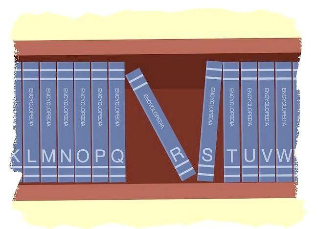 Imaginea intitulată Utilizați o enciclopedie Pasul 3
