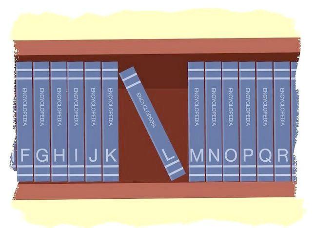 Imaginea intitulată Utilizați o enciclopedie Pasul 8